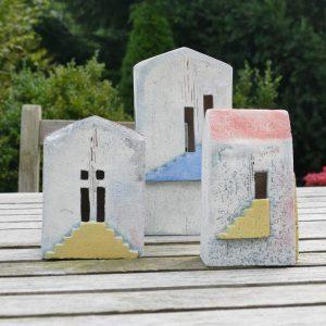 Häuser | Keramik-Poesie - Keramische Kreationen aus dem Atelier von Theresia Störtländer-Nerge in Minden
